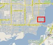 Beach Pkwy area of Cape Coral, Florida
